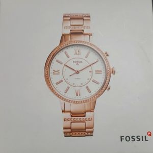 Fossil Rose gold Hybrid smart watch